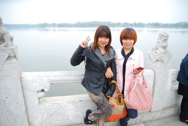 一群可爱的外国小朋友,让我们的园长们的爱心又在北京萌发了出来